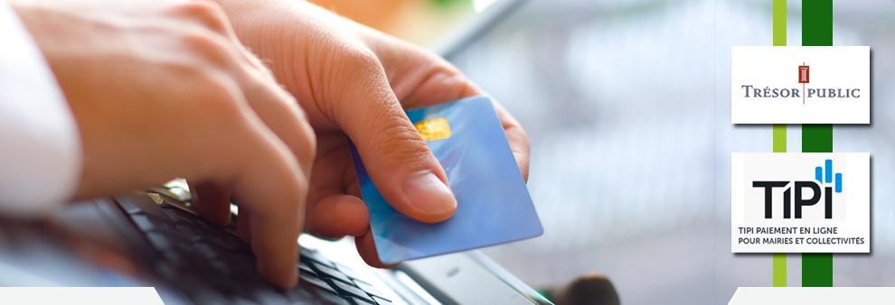 Vous pouvez dès à présent payer votre facture depuis chez vous.